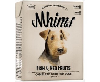 Mhims Fish & Red Fruits alimento naturale per cani